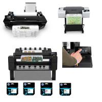 View: Large Format Printers & Supplies