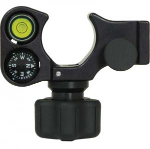 Claw Pole Clamp with Compass and 40-minute Vial
