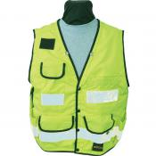 View: Seco 8063 Surveyors Utility Vest - Fluorescent Yellow - ANSI/ISEA Class 2