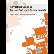 A Practical Guide to Carlson Software Book Bundle 2018