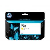 View: HP 728 130-ml Yellow DesignJet Ink Cartridge