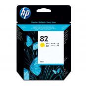 View: HP 82 69-ml Yellow Ink Cartridge